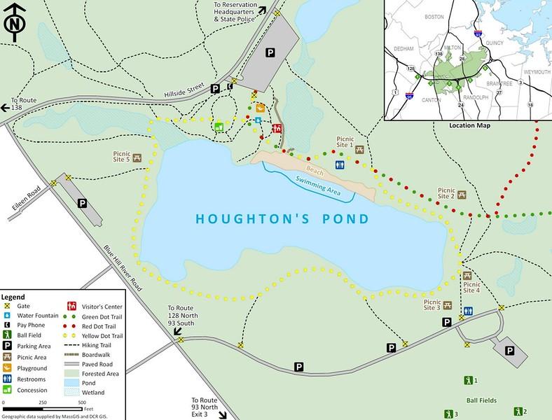 Houghton's Pond Recreation Area