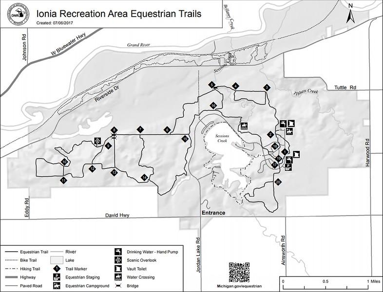 Ionia State Recreation Area (Equestrian Trails)