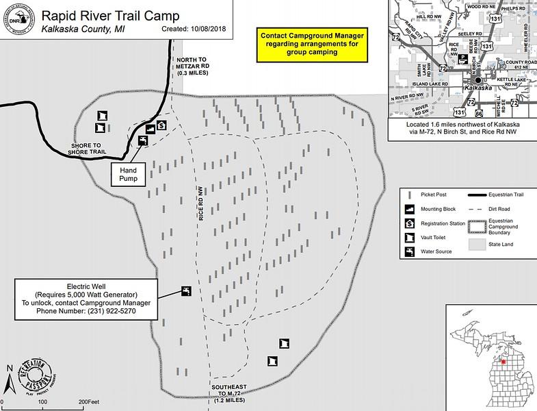 Rapid River Trail Camp
