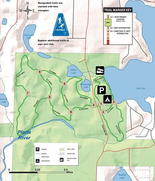Lake Ann Pathway