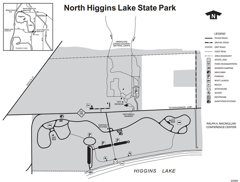 North Higgins Lake State Park