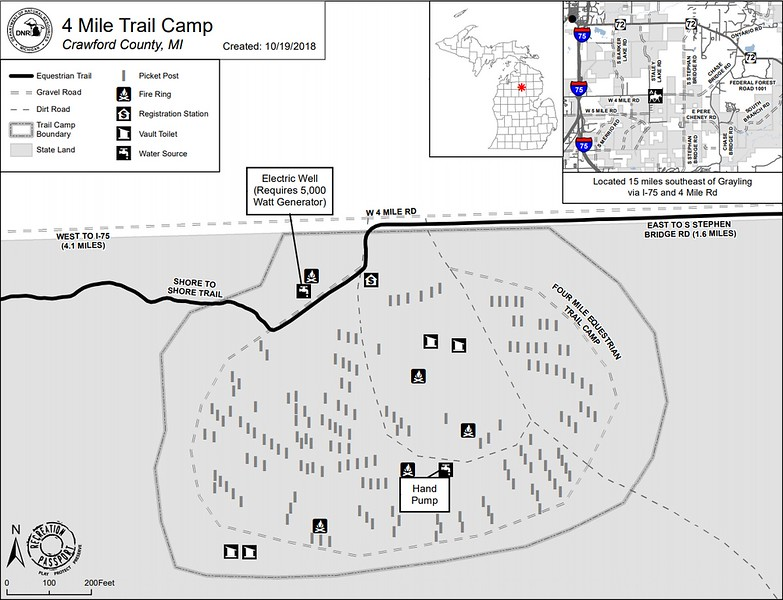 4 Mile Trail Camp