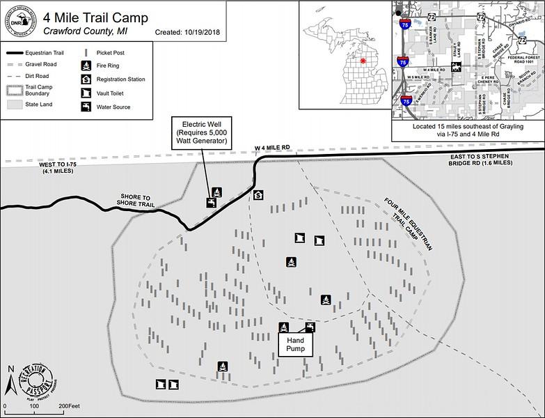 4 Mile Trail Camp