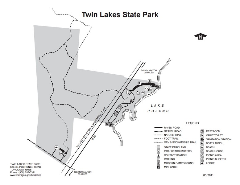 Twin Lakes State Park