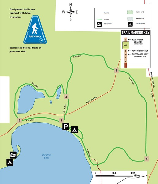 Big Bear Lake Pathway & State Forest Campground