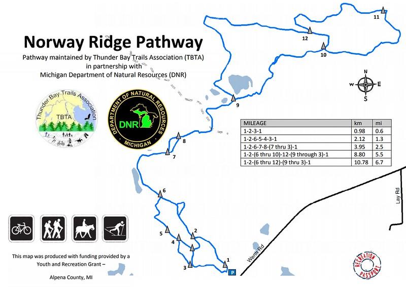 Norway Ridge Pathway