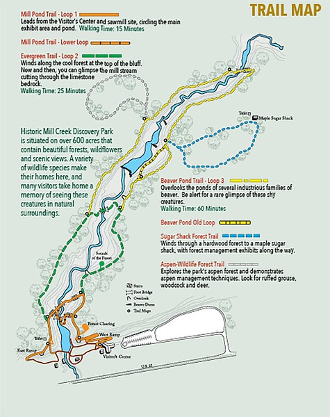 Historic Mill Creek Discovery Park (Trails)
