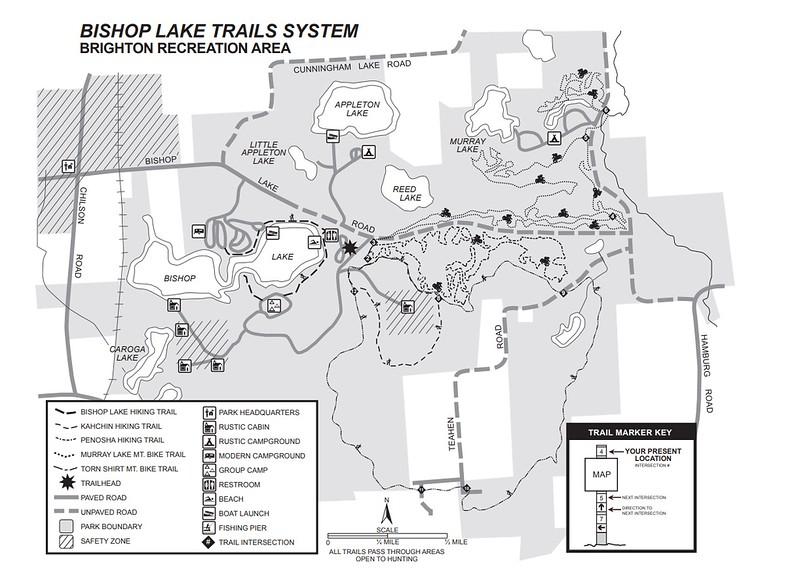 Brighton Recreation Area (Bishop Lake Area Trails)