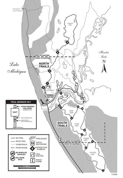 Ludington State Park (Ski Trails)