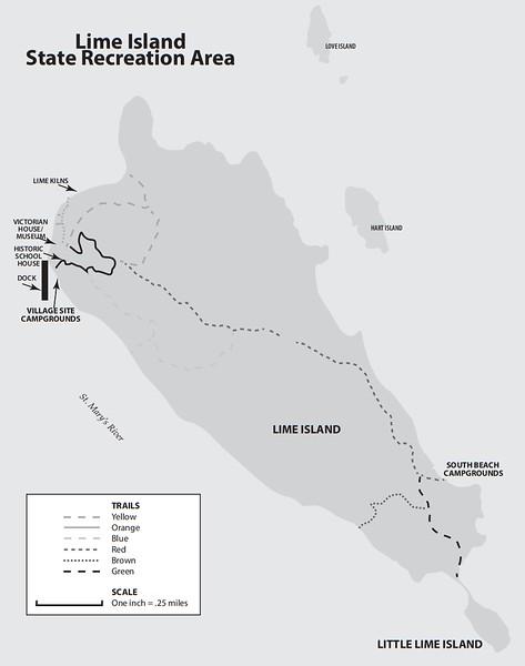 Lime Island State Recreation Area