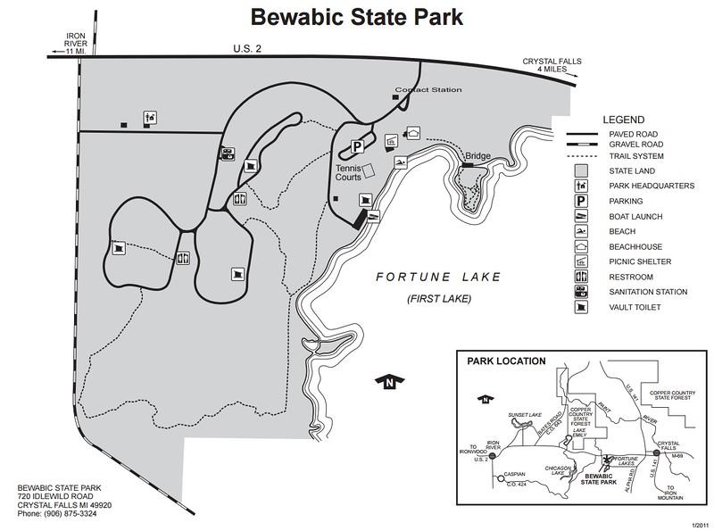 Bewabic State Park