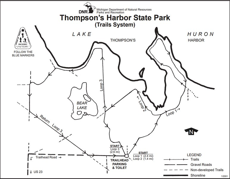 Thompson's Harbor State Park (Trail Map)