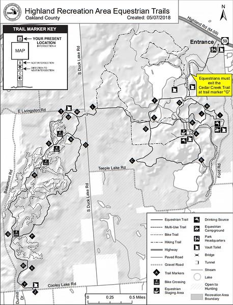 Highland Recreation Area (Equestrian Trails)