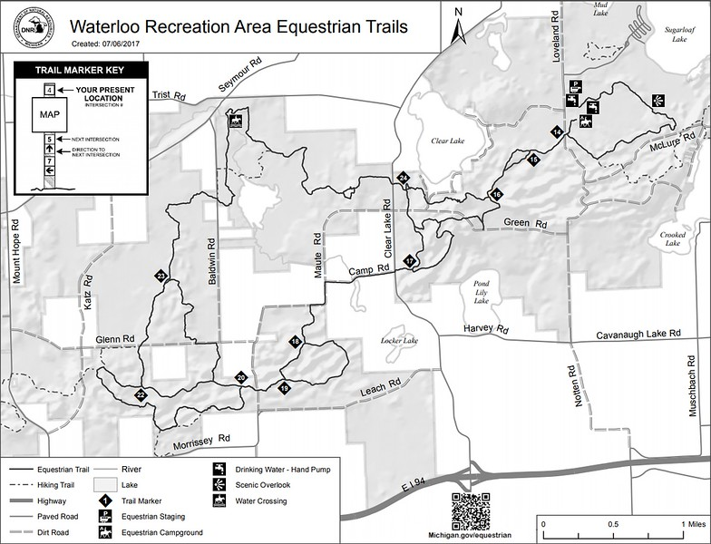 Waterloo Recreation Area (Equestrian Trails)