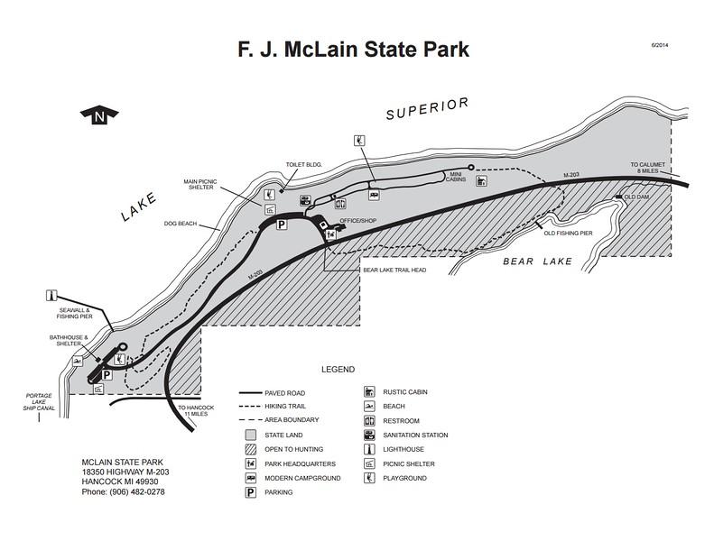 F.J. McLain State Park