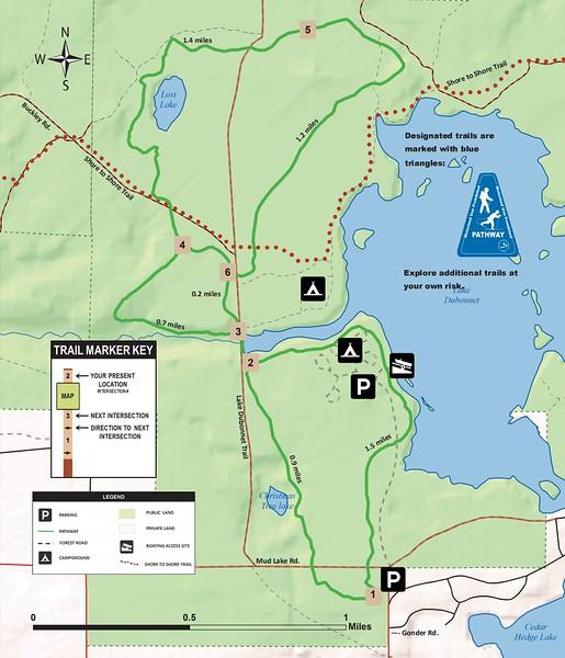 Lost Lake Pathway