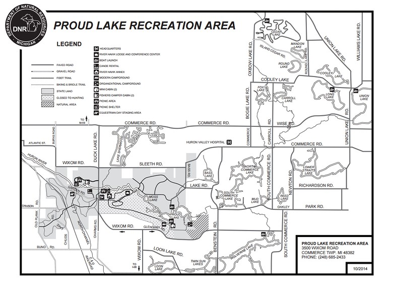Proud Lake Recreation Area