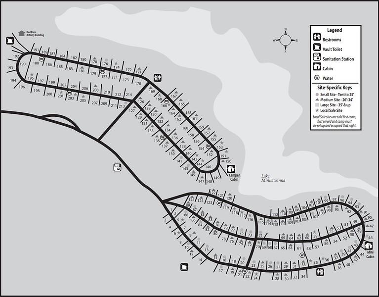 Metamora-Hadley Recreation Area (Campground Map)
