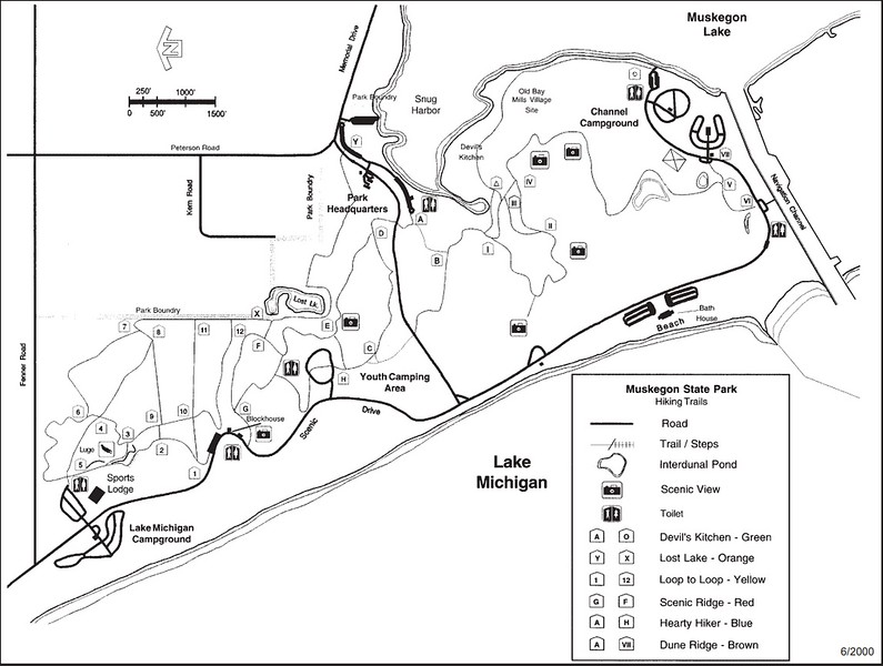 Muskegon State Park (Trail Map)