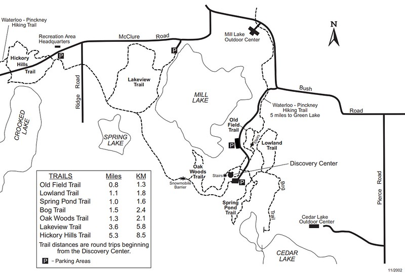 Waterloo Recreation Area (Discovery Center Area Trails)