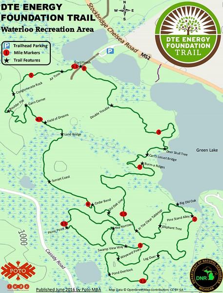 Waterloo Recreation Area (Green Lake Loop Trail)