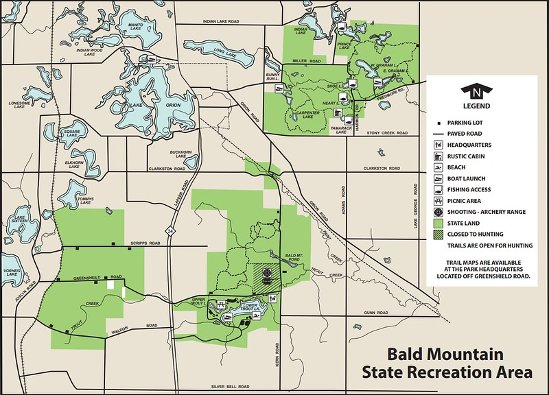 Bald Mountain State Recreation Area