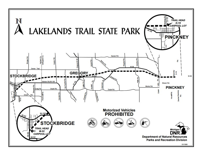 Lakelands Trail State Park