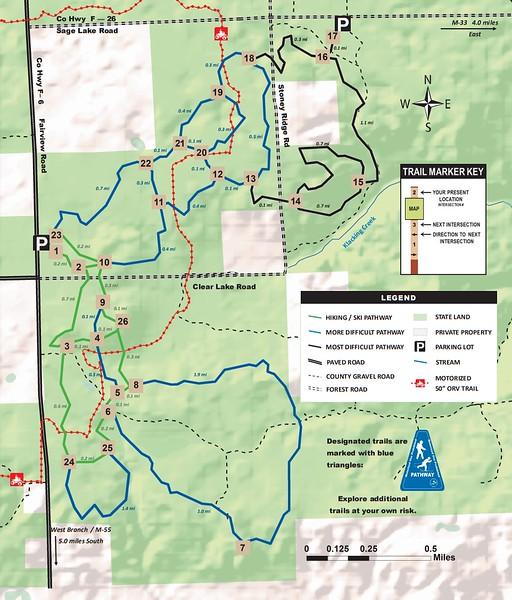 Ogemaw Hills Pathway