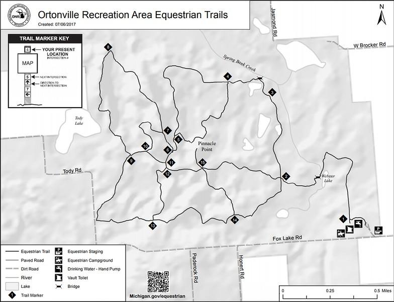 Ortonville Recreation Area (Equestrian Trails)