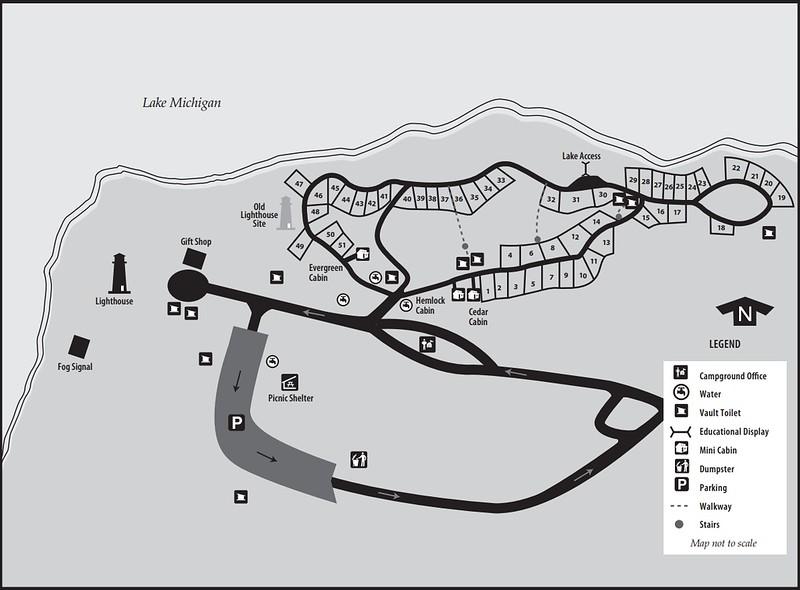 Leelanau State Park (Campground Map)
