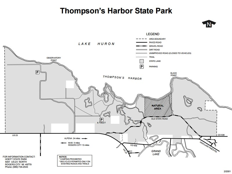 Thompson's Harbor State Park