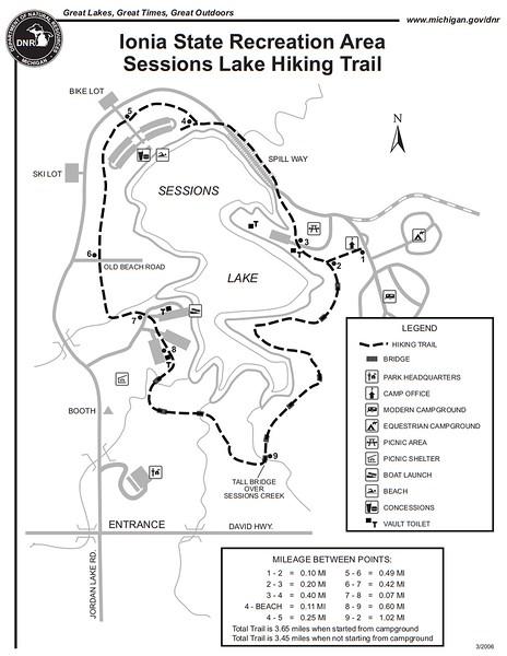 Ionia State Recreation Area (Sessions Lake Trail)