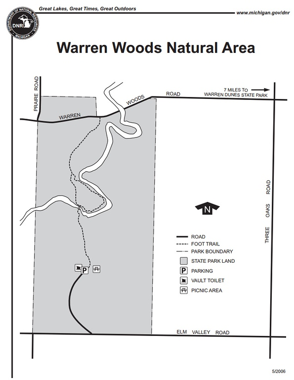 Warren Woods State Park