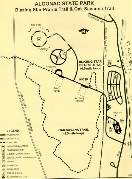 Algonac State Park (Trail Map)
