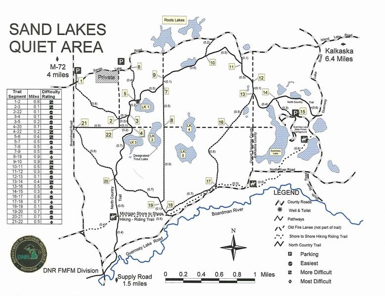 Sand Lakes Quiet Area Pathway