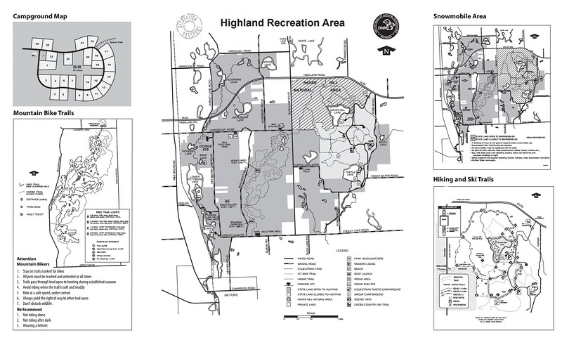 Highland Recreation Area
