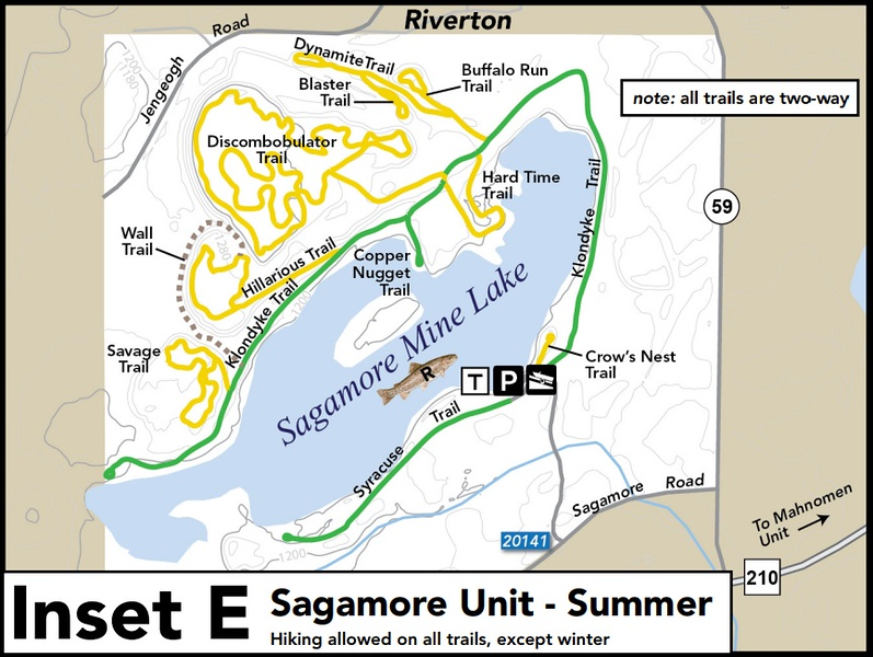 Cuyuna Country State Recreation Area (Sagamore Unit)