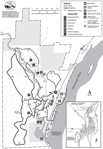 Charles A. Lindbergh State Park (Main Park Area)