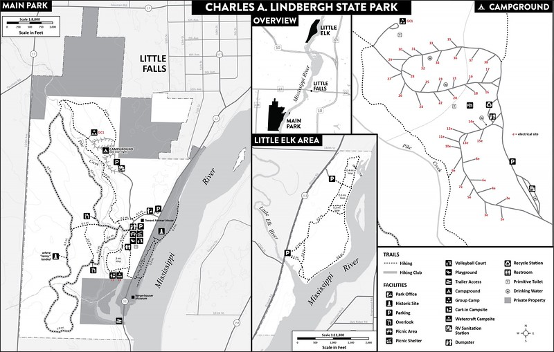 Charles A. Lindbergh State Park