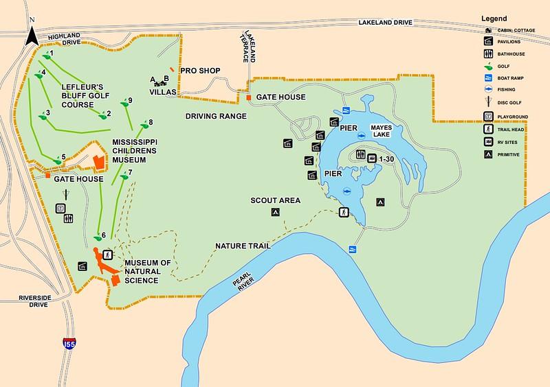 LeFleur's Bluff State Park