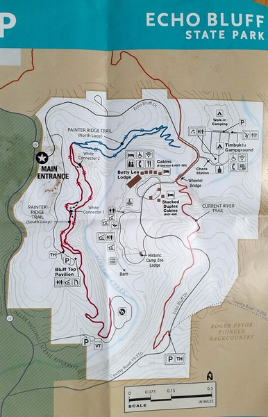 Echo Bluff State Park