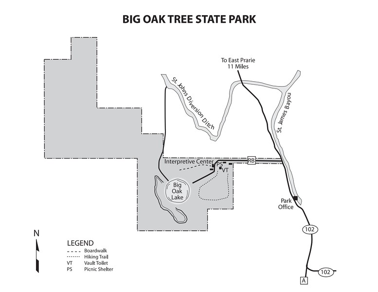 Big Oak Tree State Park