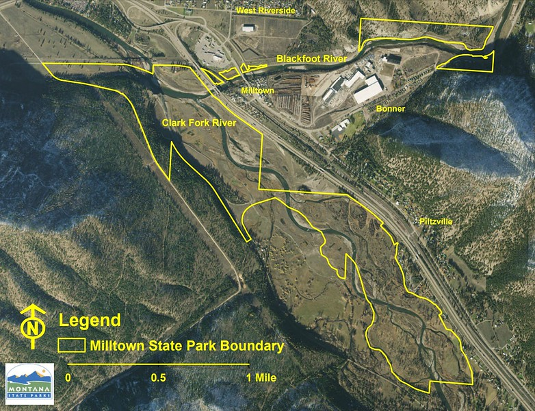 Milltown State Park (Boundary Map)
