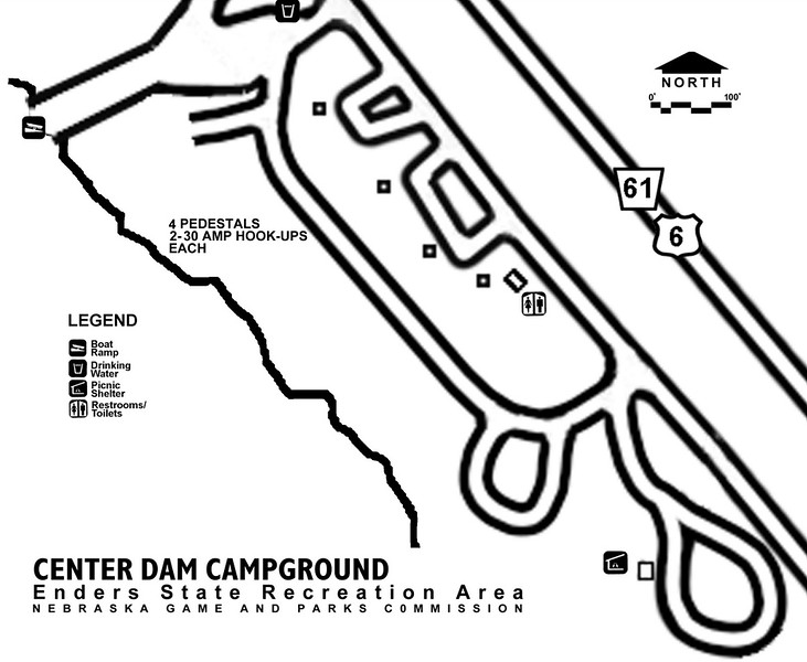 Enders Reservoir State Recreation Area (Center Dam Campground)