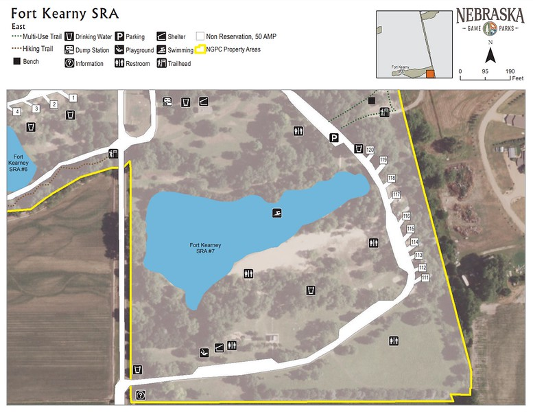 Fort Kearny State Recreation Area (East Campground)