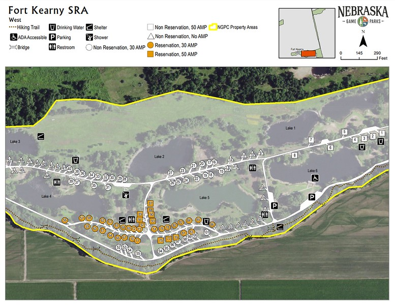 Fort Kearny State Recreation Area (West Campground)