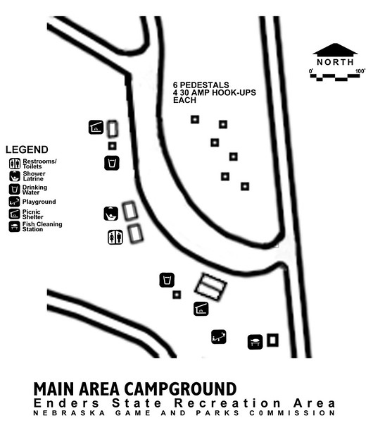 Enders Reservoir State Recreation Area (Main Area Campground)