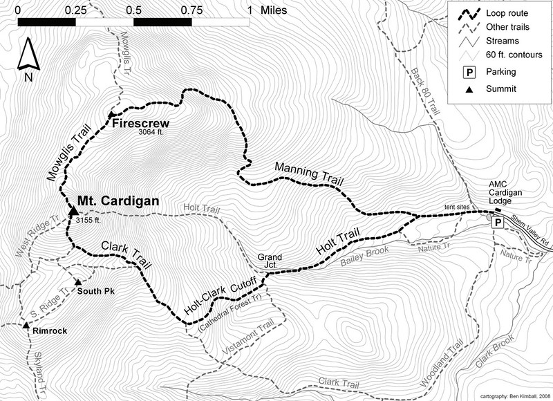 Cardigan Mountain State Park