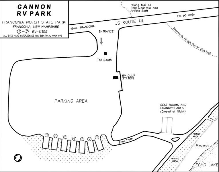 Franconia Notch State Park (Cannon RV Park)