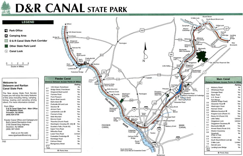 Delaware and Raritan Canal State Park